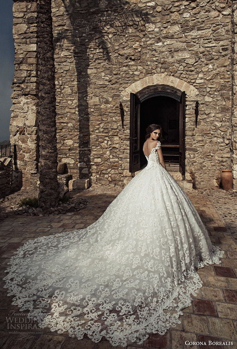 Corona borealis wedding dresses corona neckline and wedding