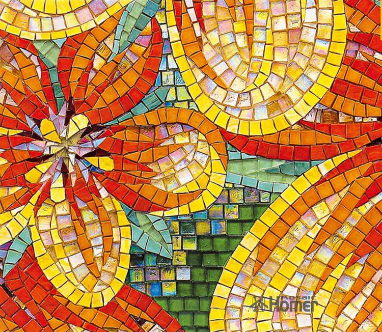 Glass Mosaic Tile Art ... -glass-mosaic-tiles-wall-decor-art-design ...