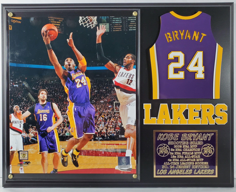 Kobe Bryant 8x10 Los Angeles Lakers Custom Made Plaque W Etsy In 2020 Kobe Bryant Kobe Los Angeles Lakers