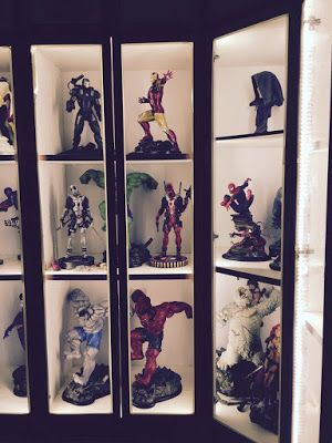 Action Figure Display Case, Display Cabinet Lighting Ideas
