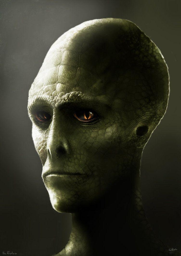 Image result for reptilian horror art