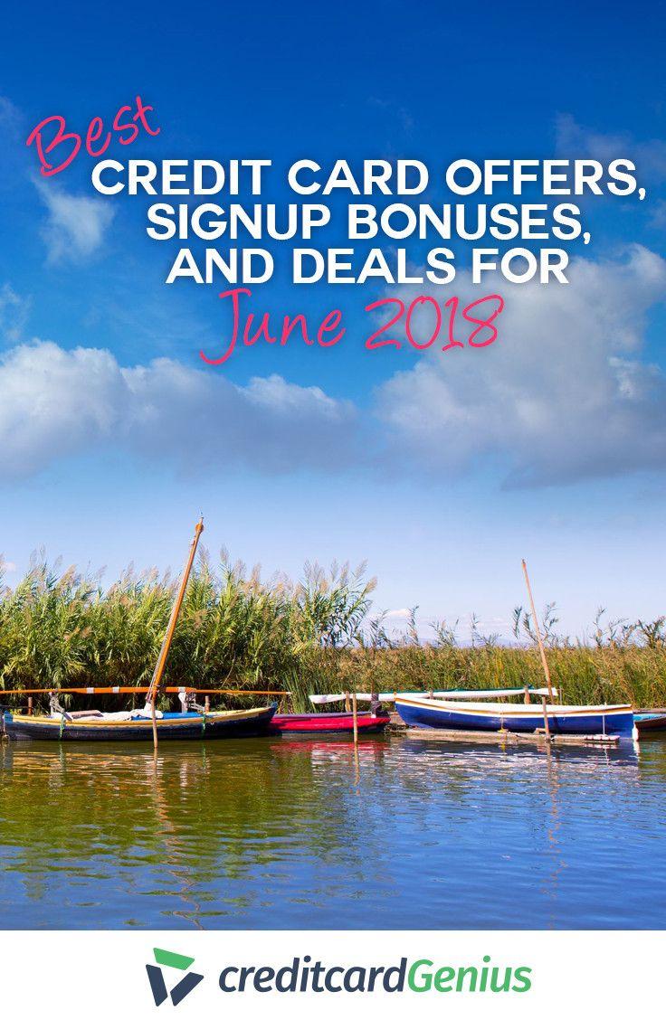 Best credit card offer signup bonuses and deals for