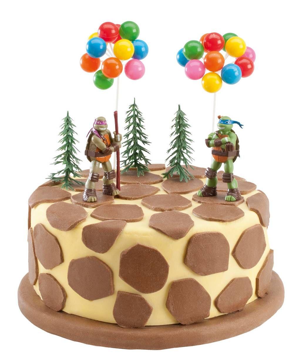 Decoracin postres Tortugas ninja Cake