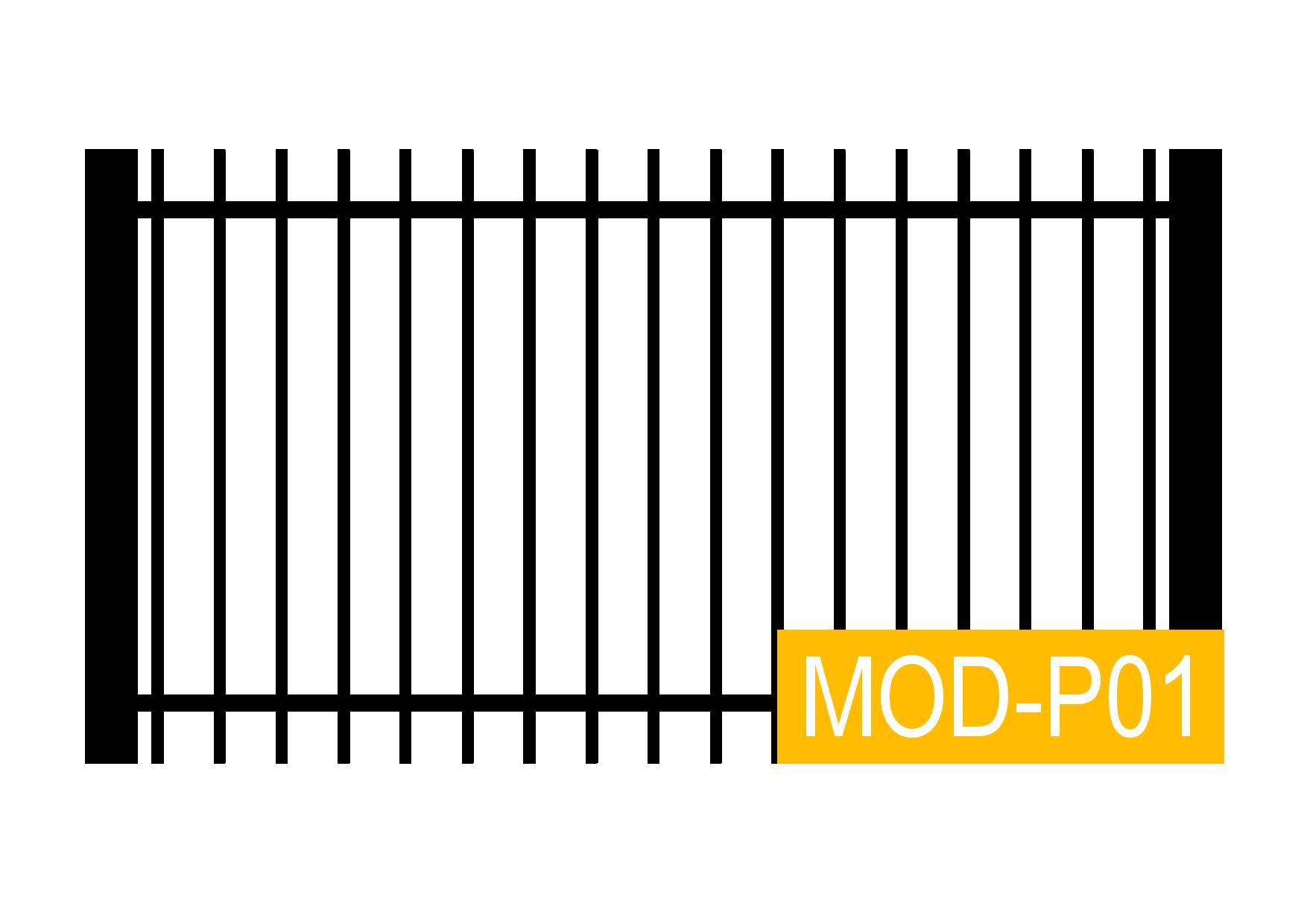 Moderner Zaun aus Polen zum günstigen Preis