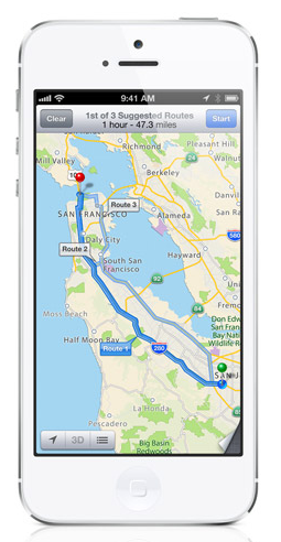 Critics Rave About iPhone 5 But Many Roast Apple's Maps #apple