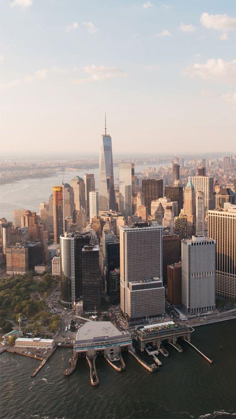 New York City Skyline 2016 iPhone 6 Wallpaper New york