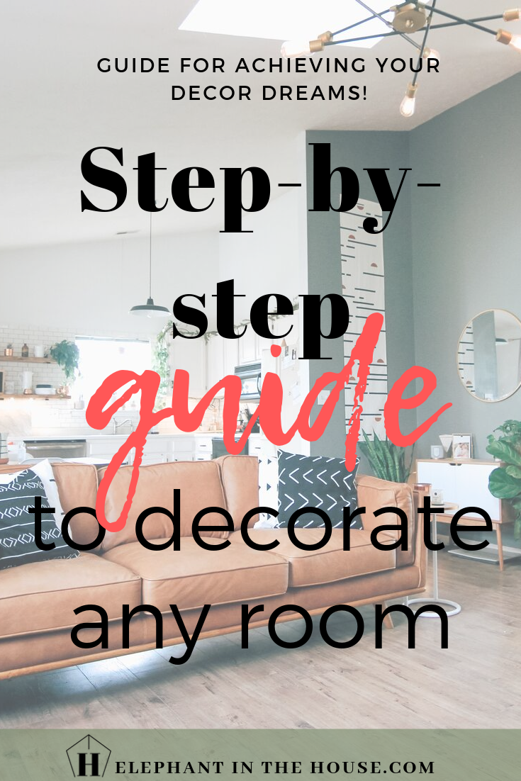 This are all the steps I personally take when planning and executing a room design! Grab some coffee and a notebook and achieve your decor dream space! #decorguide #decortips #homeguide #homebody #homedecor #interiordesignguide #interiordesigntips #tipstodecor #dreamspace