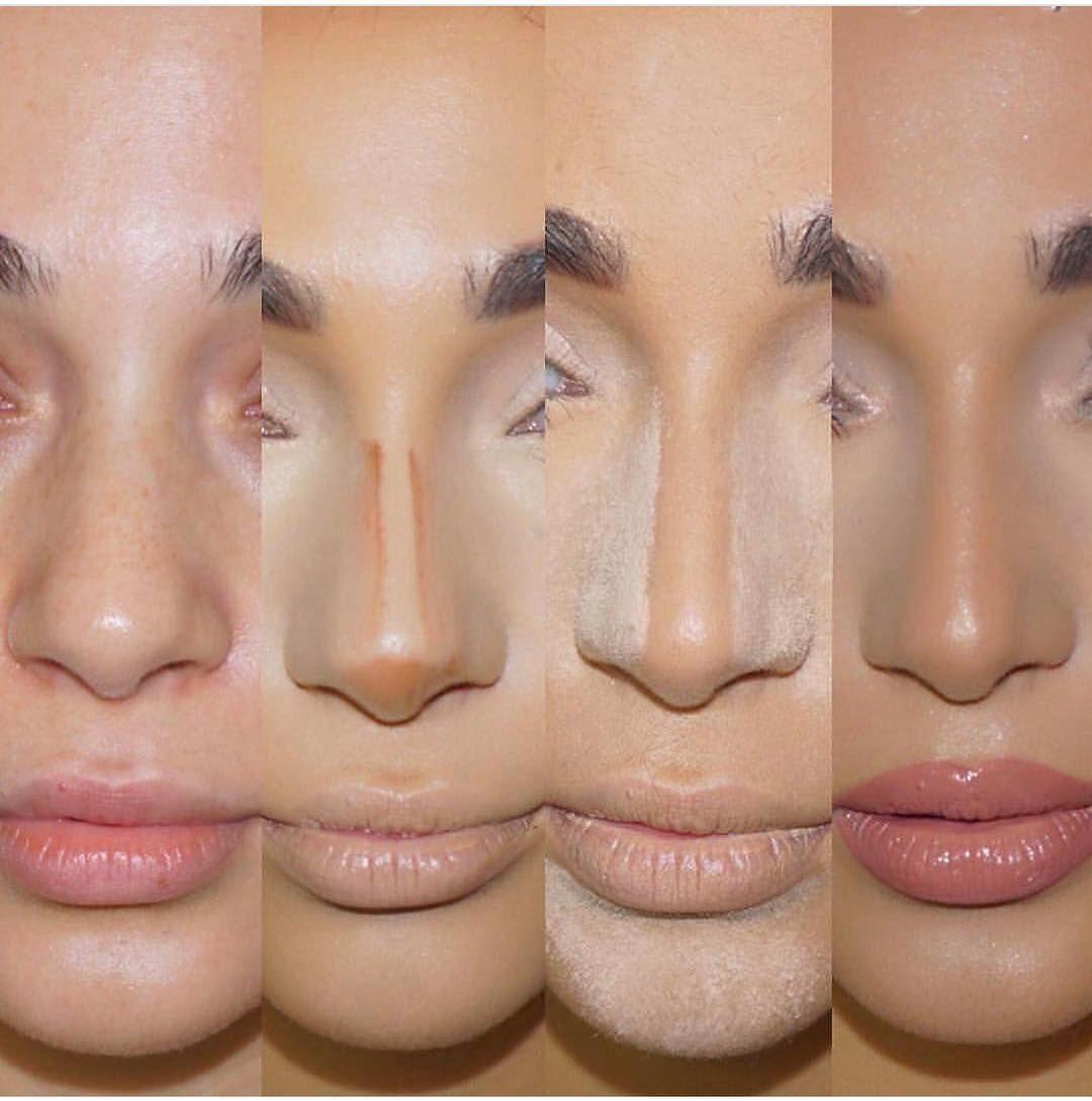 Gölgelendirme Teknikleri Burnunuzu çok Güzel Gösterebilirsiniz