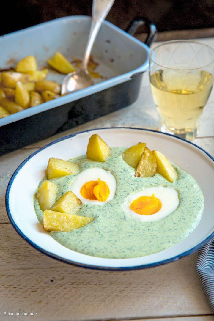 Frankfurter Grüne Soße (Grie Soß) - Madame Cuisine