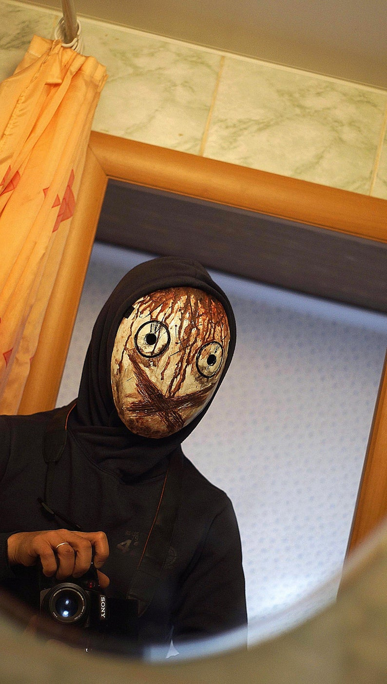 Babel Halloween 2020 Legion Mask Dead by daylight mask Julie wearable halloween | Etsy