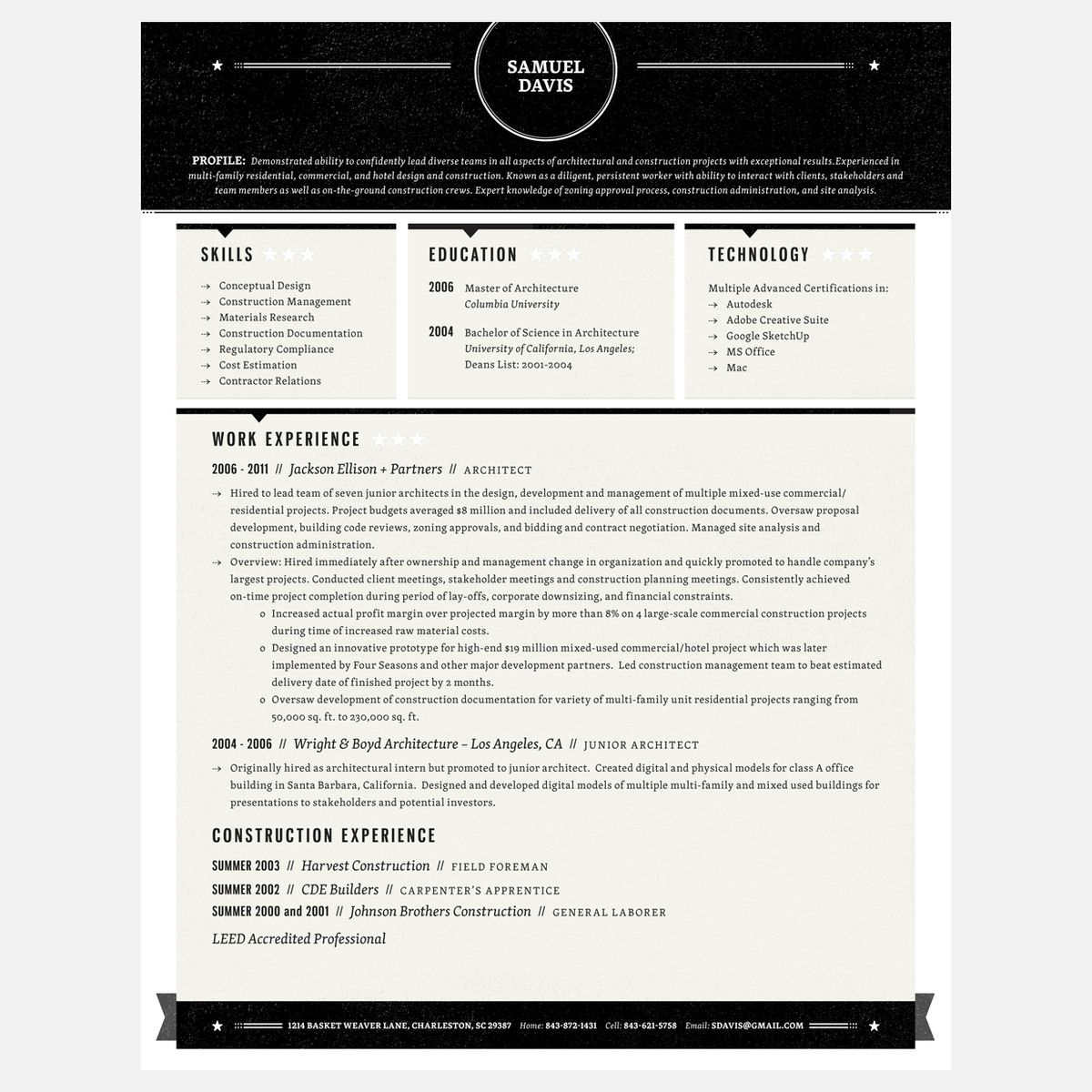 Loft Resumes 2 Page Resume Service Job resume examples