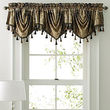 American Living Window Treatments Morrison Swag Jcpenney