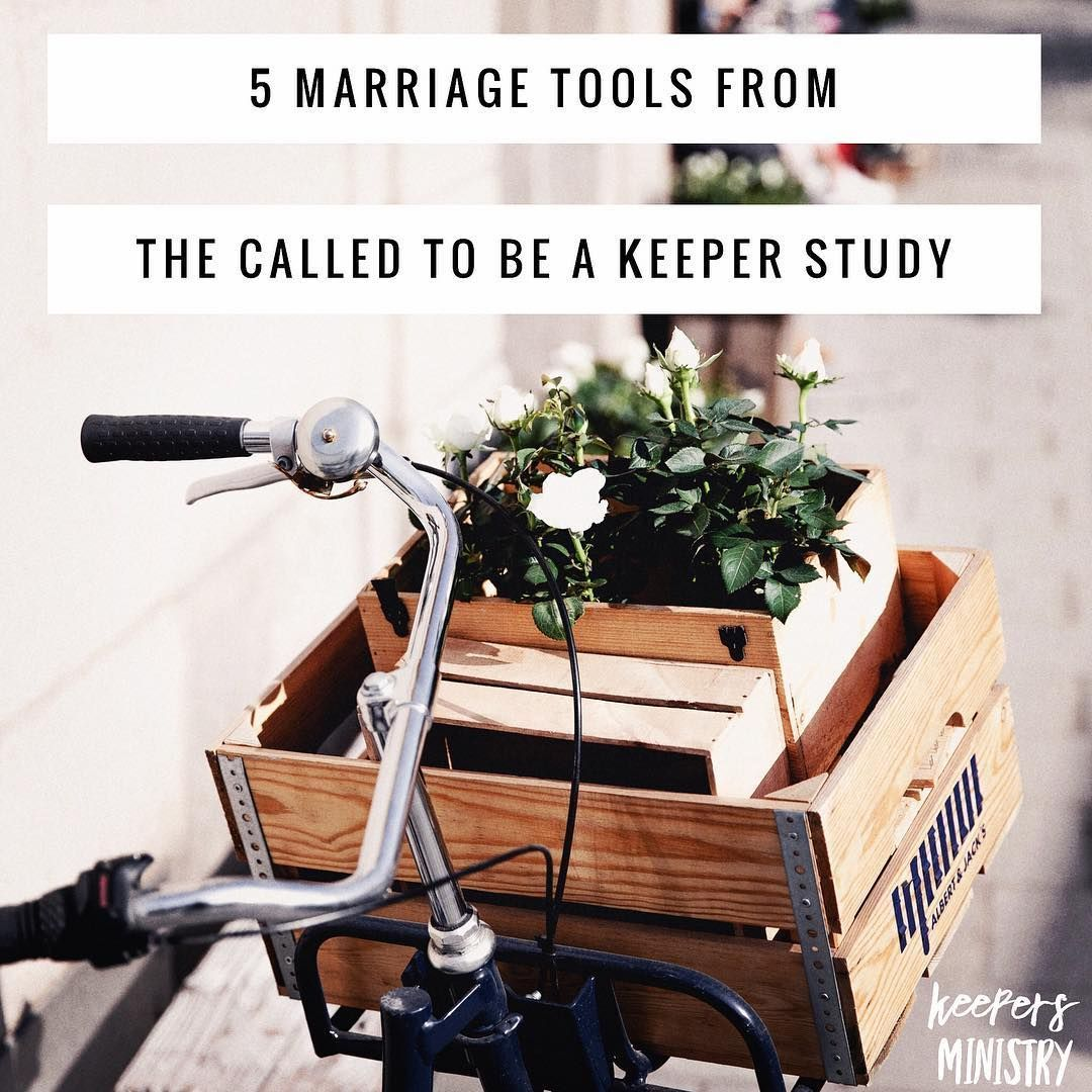 """Here are 5 tools from """"Called to be a Keeper""""."""