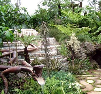 The first ever New Zealand Garden to be represented at Chelsea won a gold medal