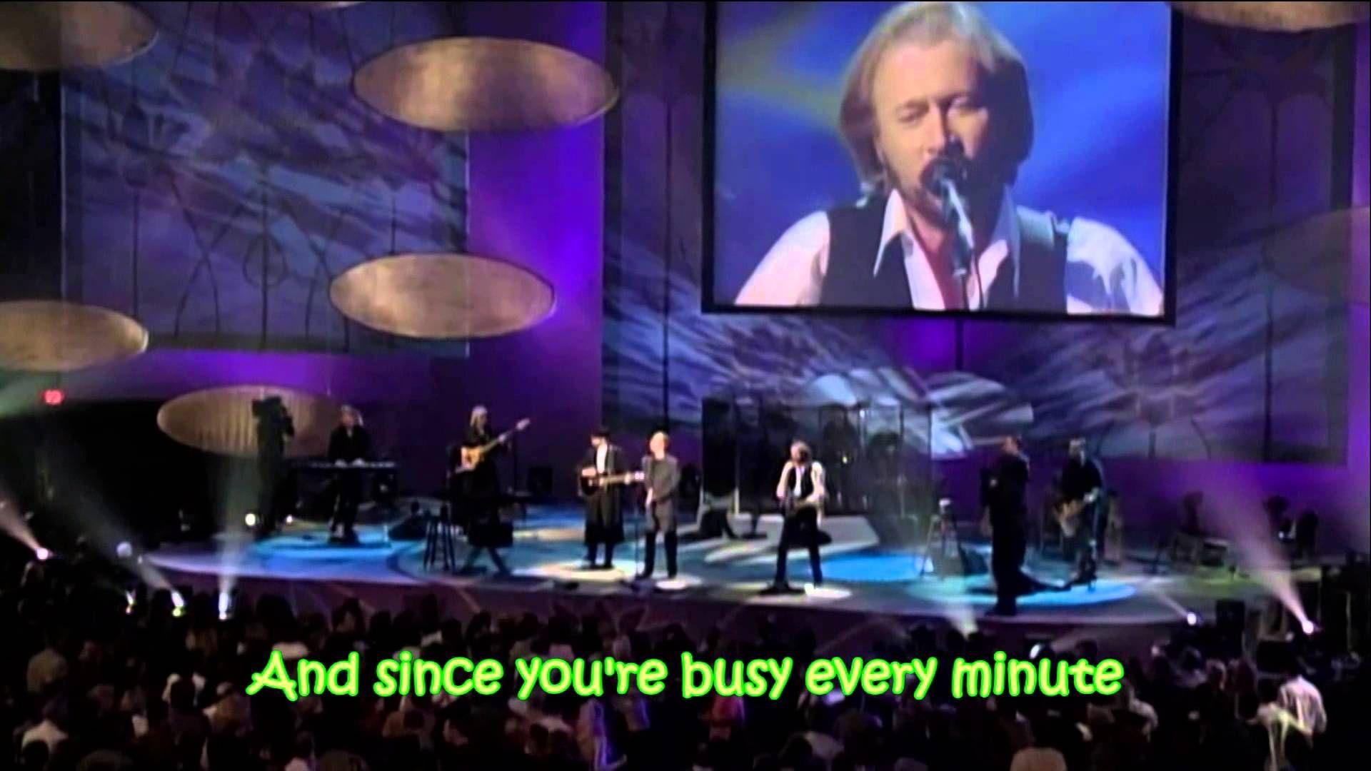 Bee Gees Alone (with lyrics) Musik