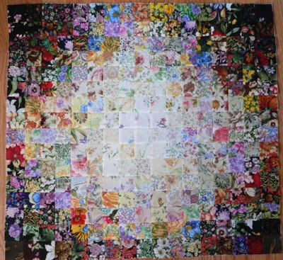 Watercolor Quilt Beautiful Watercolor Quilt