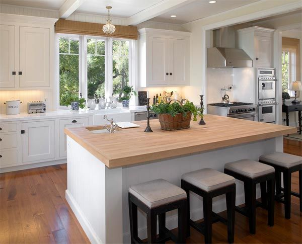 real kitchens: 10 modern applications of the butcher block