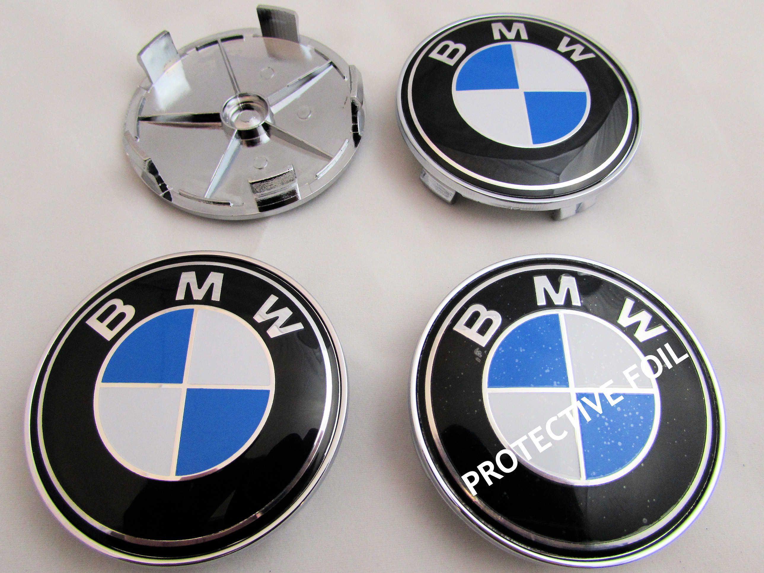 Bmw 1 3 5 7 Z3 Z4 X3 X5 Series Alloy Wheel Center Caps Bmw