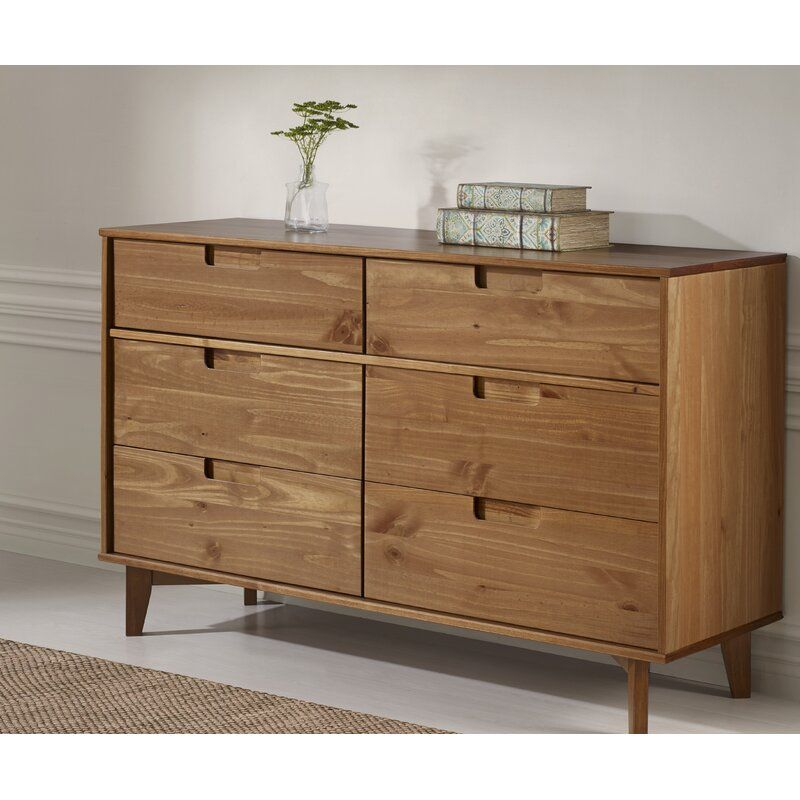 Best Cecille Groove 6 Drawer Double Dresser In 2020 With 400 x 300