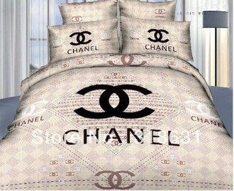 Parure De Lit Chanel Recherche Google Designer Bed Sheets Bed Linens Luxury Chanel Bedding