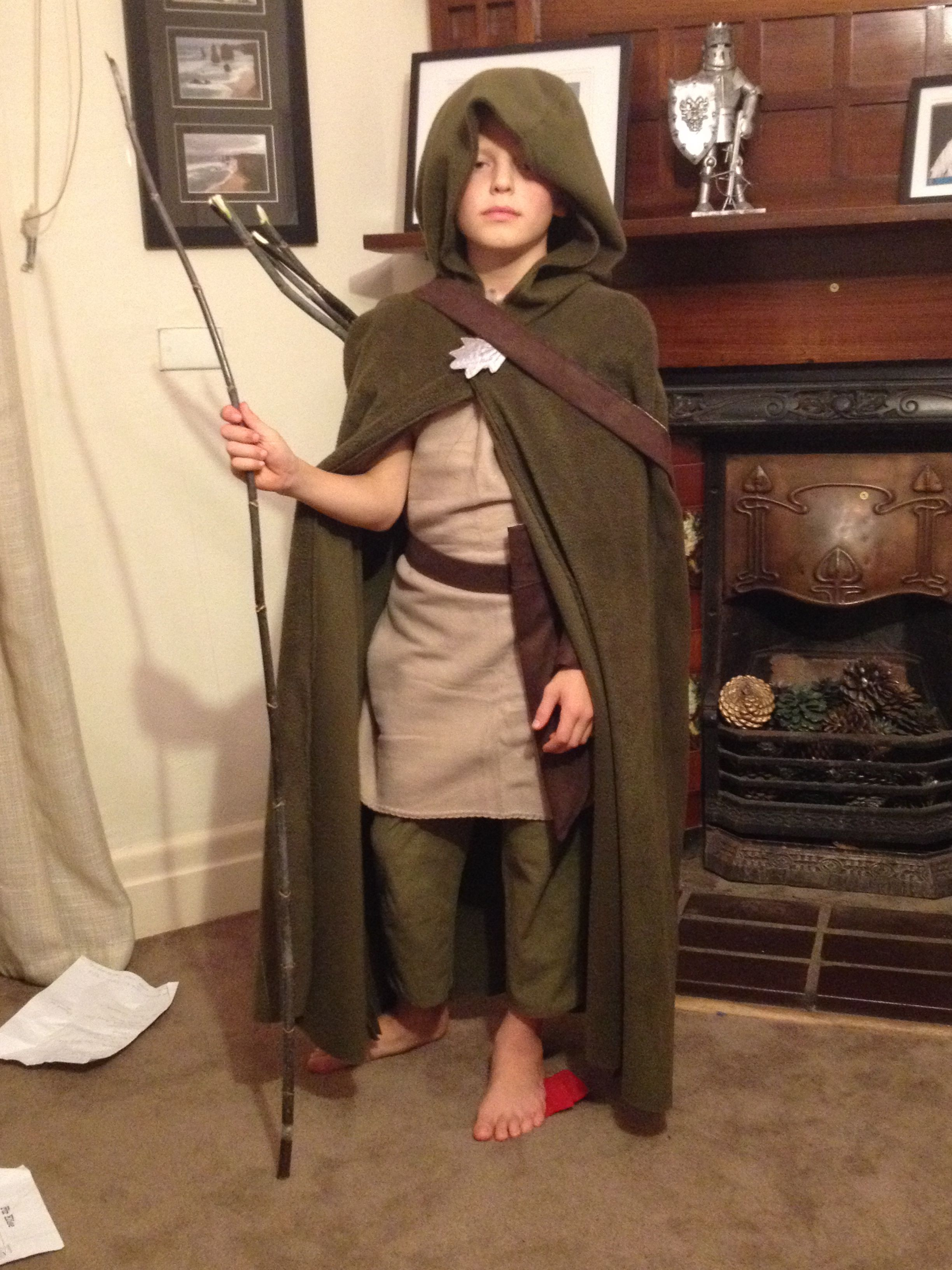 Will From The Ranger's Apprentice Books Another Made For Book Week Costume