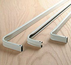 Adjustable Kirsch Standard Curtain Rod 28 To 48 4 Clearance Curtain Rods Drapery Hardware Metal Curtain Rod