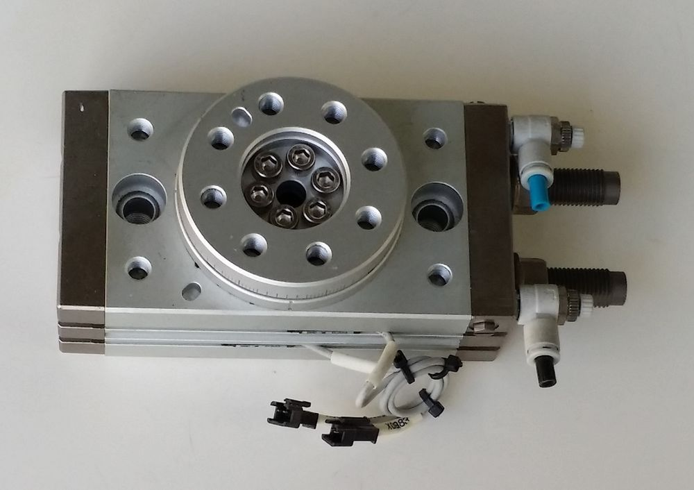 SMC  MSQB50R  Pneumatic Rotary Actuator,  0.6MP  SMC  D-A93 #SMC