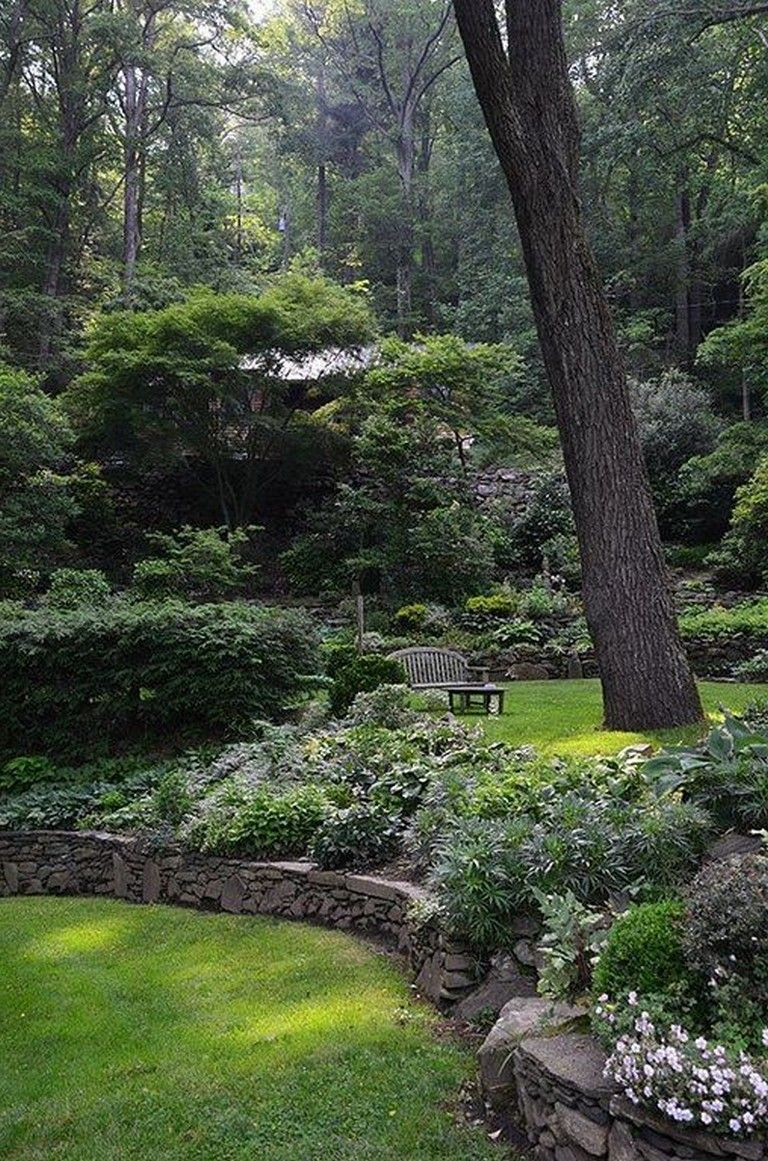 30 Awesome Garden In The Woods That Will Make You Wonder If You See It Garden In The Woods Cottage Garden Design Landscape Design