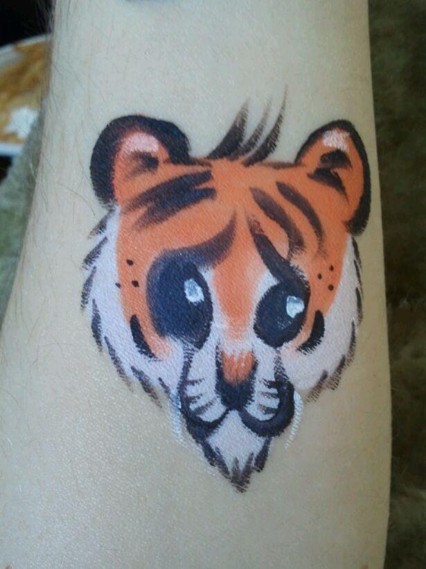 tiger cheek art