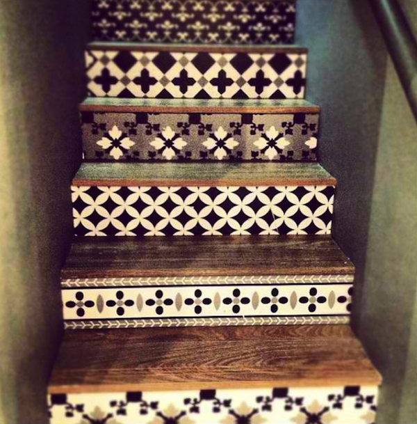 58 Cool Ideas For Decorating Stair Risers: 5 Awesome Staircase Ideas