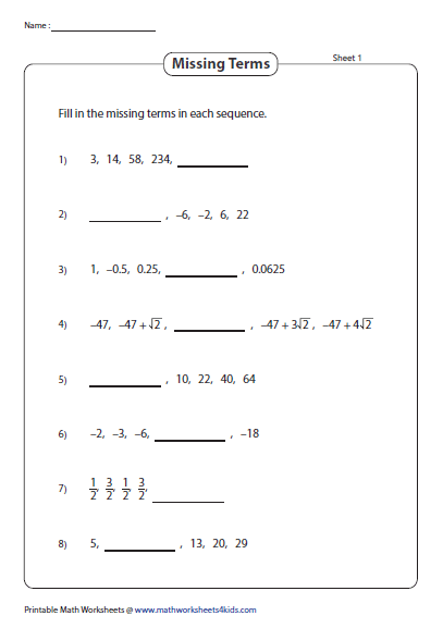 11  calculus nth term and geometric series test fun worksheet further Worksheet 51   Geometric Series ks ia2 likewise Arithmetic Sequence Worksheets additionally Arithmetic And Geometric Sequence Worksheet Arithmetic Series moreover Sequences And Series Geometric Sequence Worksheet For Sequences And furthermore  further Arithmetic And Geometric Sequence Worksheet Small Size Medium Size together with  furthermore  likewise Sequences 9   Sum of Geometric series    2 worksheets  by further  besides Alge 2 Worksheets   Sequences and Series Worksheets additionally Infinite Geometric Series Worksheet   globaltrader co in addition A level Maths  Mixed questions Sequences worksheet by phildb besides  furthermore . on geometric series and sequences worksheet