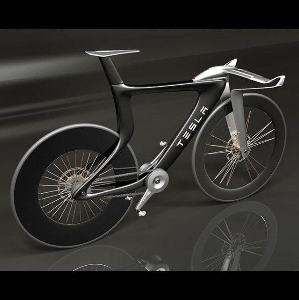 Tesla Concept Bike What Do You Think Cyclinglifestyle