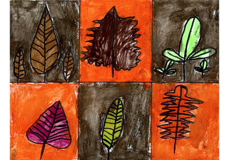 Great idea for the Fall. Collect leaves and have kids draw each one they found!
