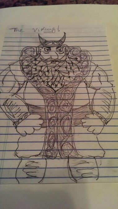 The Viking, inspired by How to Train your Dragon. This was a doodle i made afew months back.