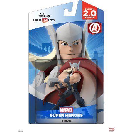 Disney Infinity 2 0 Marvel Super Heroes Thor Walmart Com Disney Infinity Marvel Superheroes Disney Infinity Figures