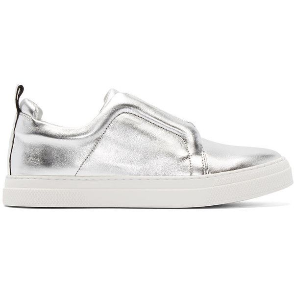 Pierre Hardy Metallic Leather Slip-On Sneakers Amazon Cheap Online Outlet Browse Buy Cheap Brand New Unisex Clearance Recommend Outlet Comfortable IFsrR