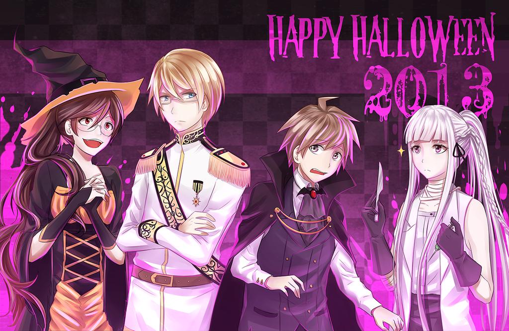 [Totallynotlate] Halloween 2013! by KatkatTan on