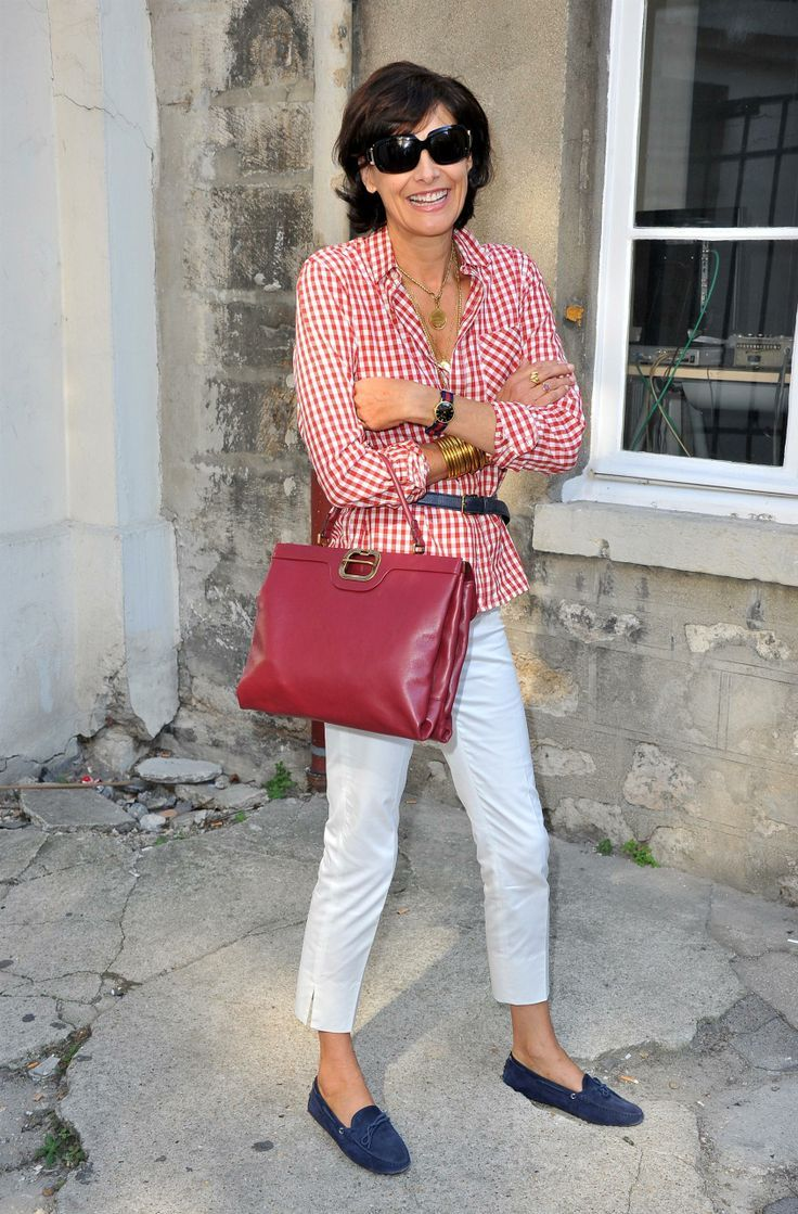 white jeans ines