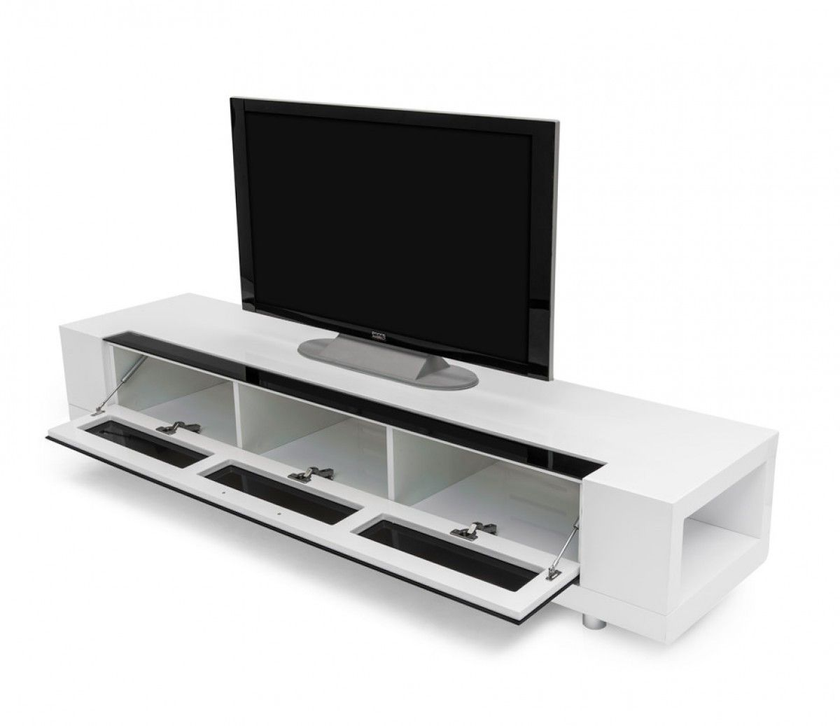 Modrest Modern White Tv Stand Vgkcgbd005w Wht White Tv Stands Tv Stand White Tv