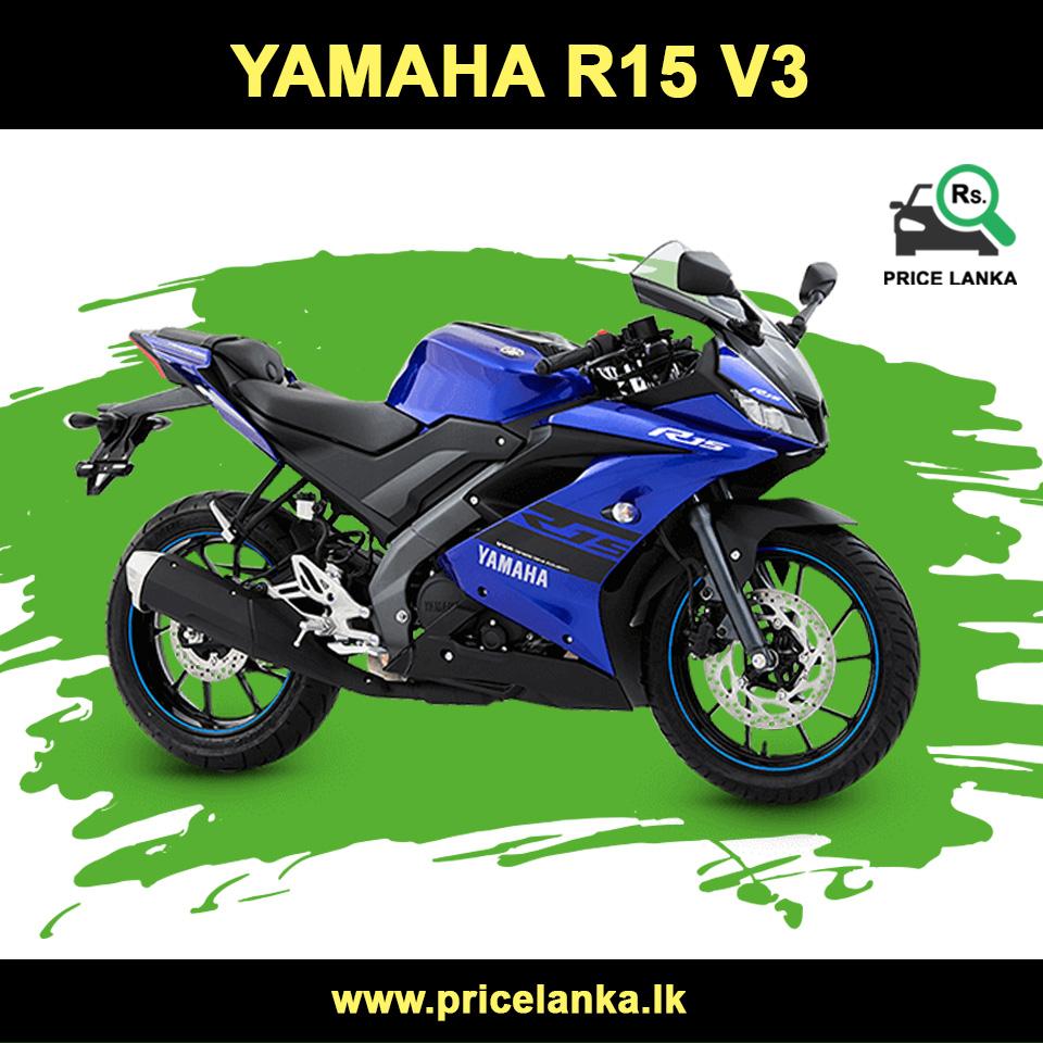 Yamaha R15 V3 Price In Sri Lanka Yamaha Yamaha Bikes Yamaha Racing