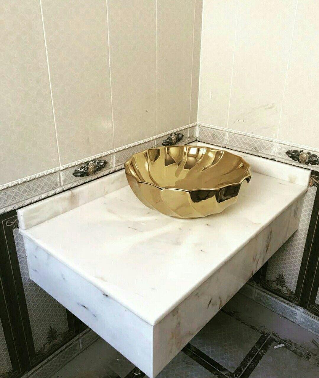 afyonwhite mermer marble Vanity, Bathroom vanity
