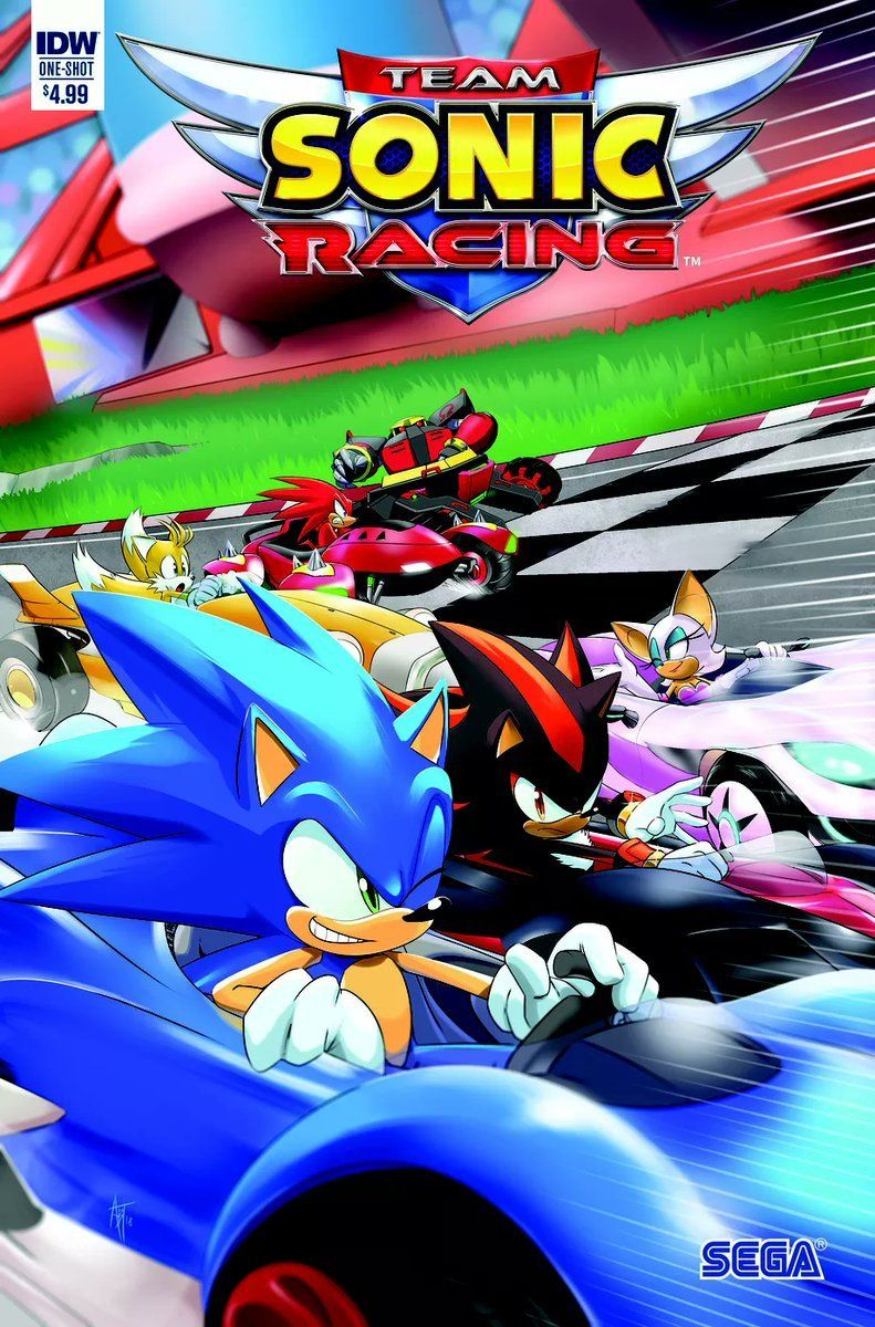 Aawesomepenguin Team Sonic Racing Will Have A Prequel Comic It Ll Be Released In October Sonic Sonic The Hedgehog Sonic Fan Art