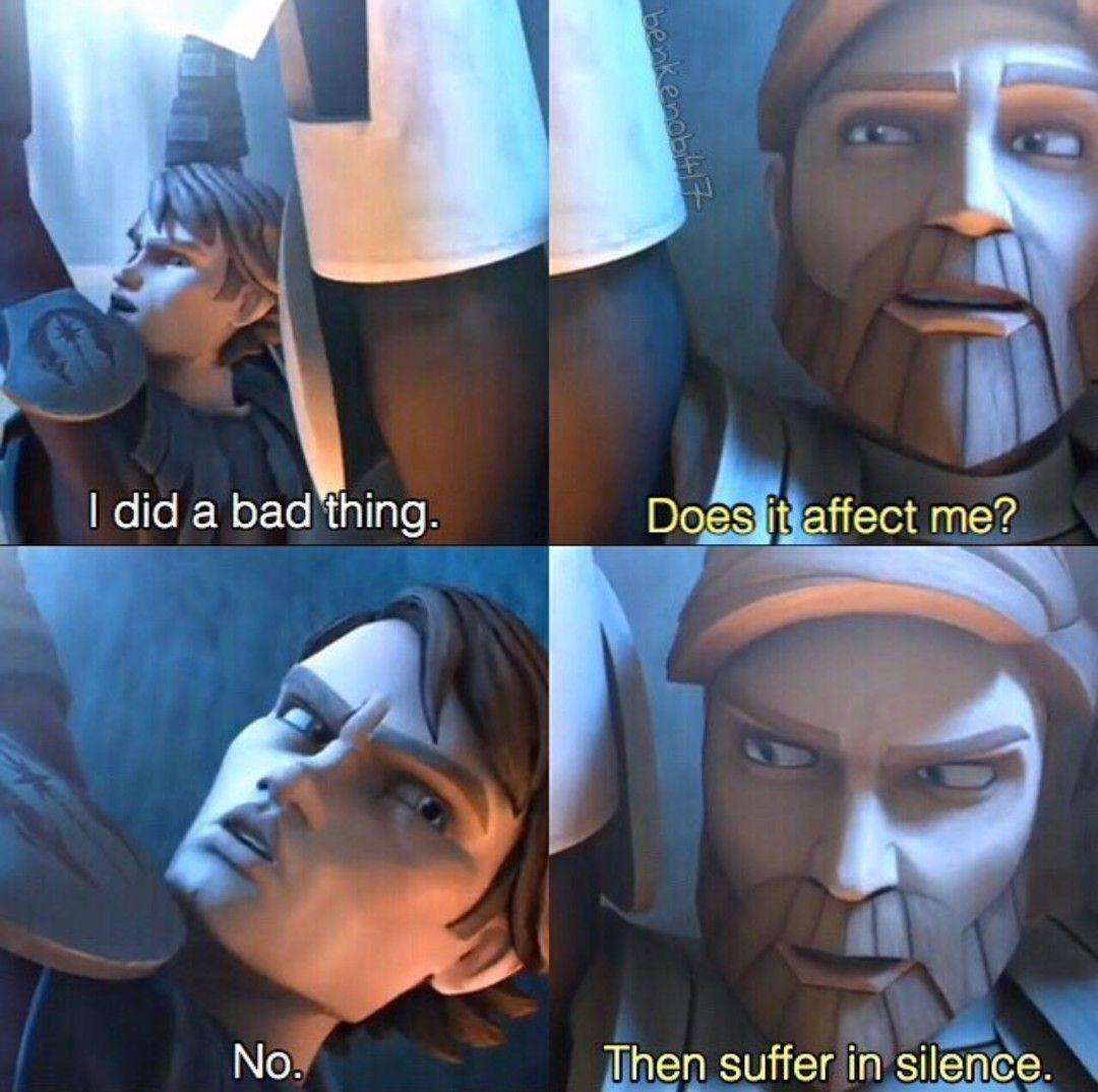 I Can Relate To Obi Wan Star Wars Jokes Funny Star Wars Memes