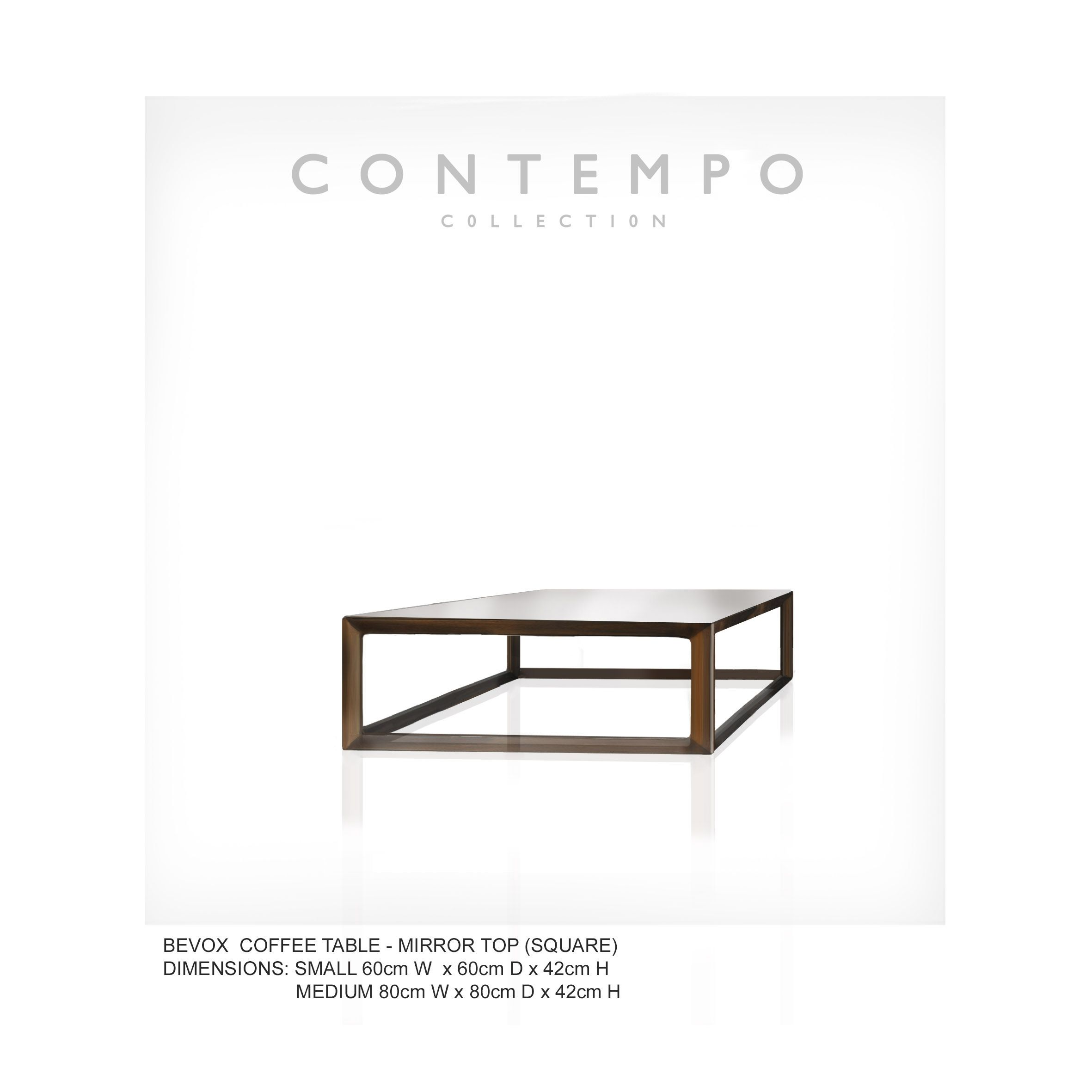 Lr Bevox Coffee Table Square The Contempo Collection Was Created For The Premier Artisan Furniture Luxury Furniture Stores Contemporary Living Room Furniture