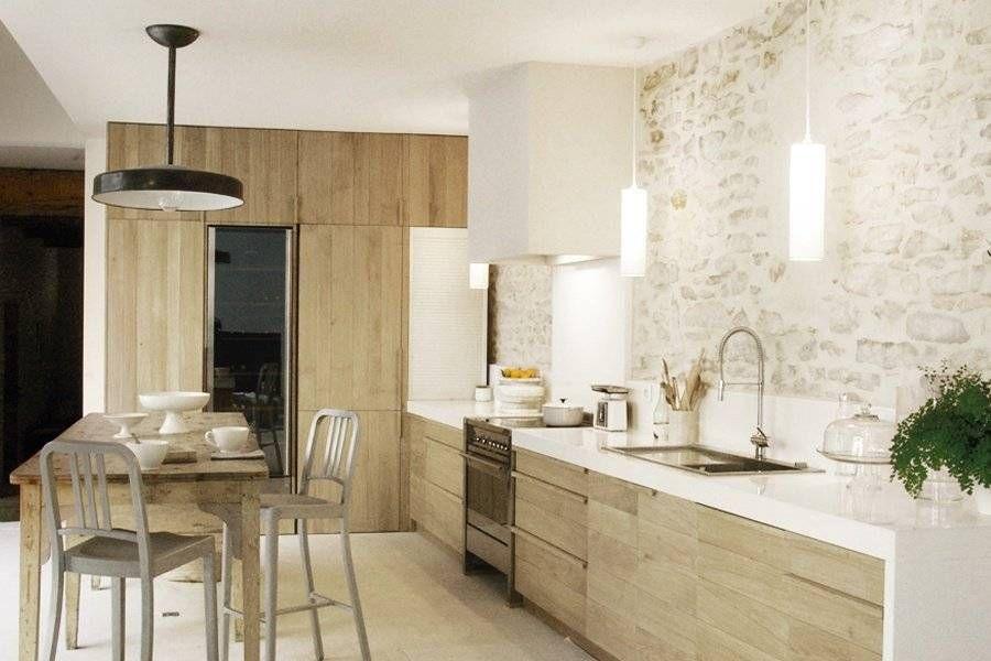 100 Idee Di Cucine Moderne Con Elementi In Legno Arredo Interni Cucina Progetti Di Cucine Interni Della Cucina