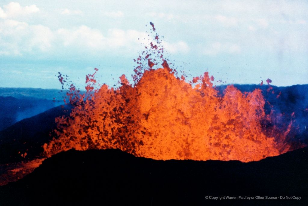 Mauna Loa Eruptions Produced Lava At A Much Higher Rate Than Any