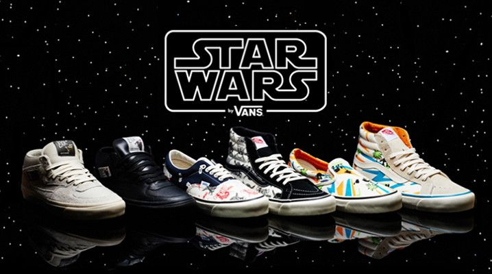 Limited edition Star Wars Vans, coming to a galaxy near you