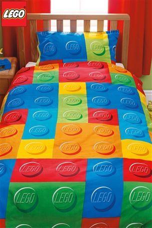 Bn Lego Bricks Single Duvet Quilt Cover Kids Bedset Curtains Bedroom Lampshade Lego Bedroom Lego Room Lego Bed
