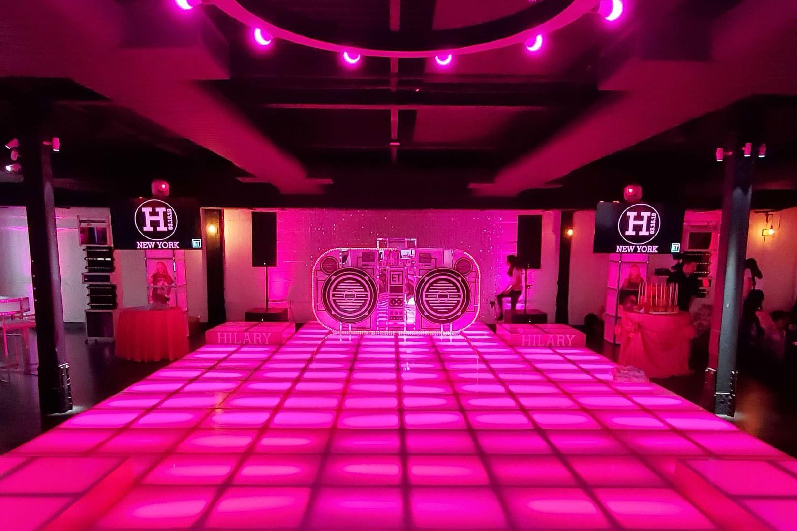 LED Dance Floors & LED Staging For Sale by Led dance