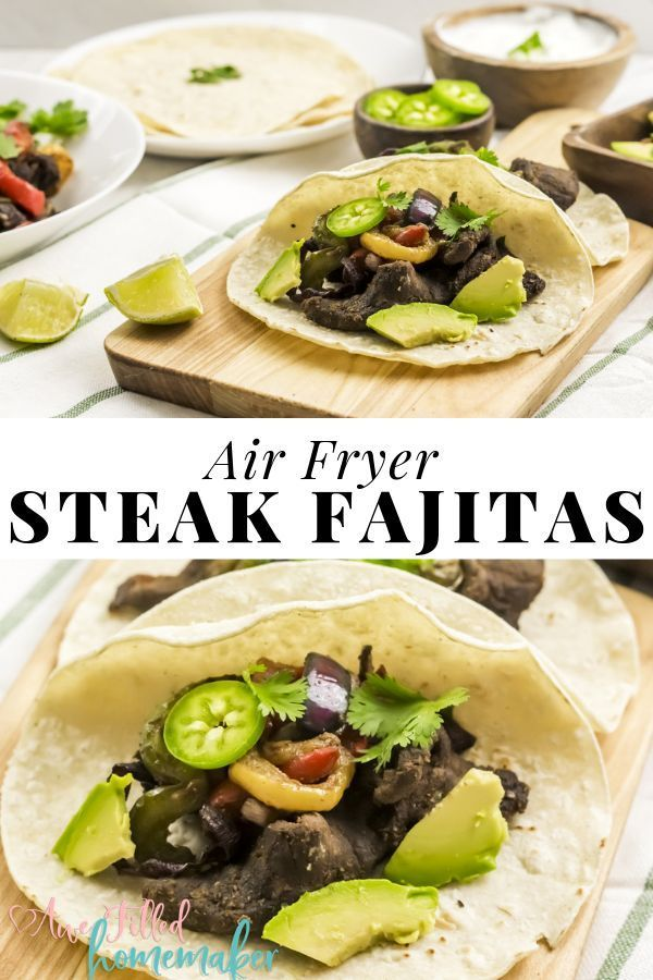 Have you used your air fryer to make steak fajitas before WHAT No If not youre missing out These Air Fryer Steak Fajitas are the BOMB